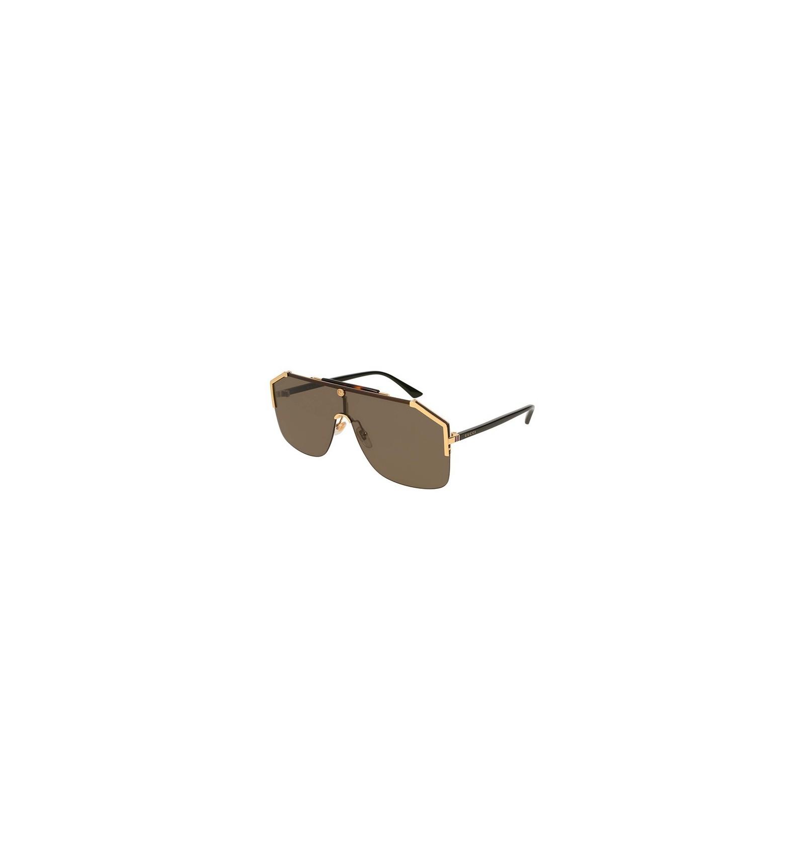 e53d2719200ef Gafas de sol gucci gold brown compra online envío gratis jpg 1600x1710  Lentes gucci