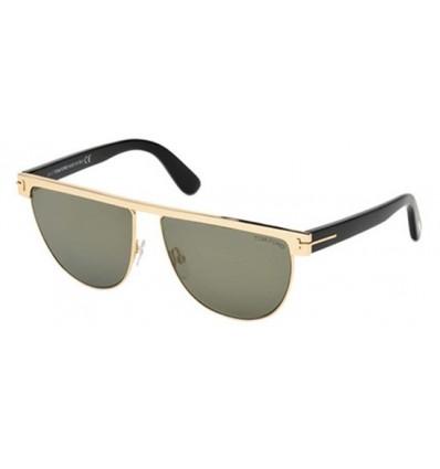 Gafas de Sol Tom Ford FT0570 STEPHANIE Shiny Rose Gold - Grey (28C)