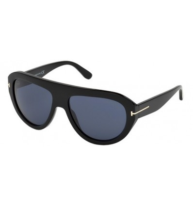 Gafas de Sol Tom Ford FT0589 FELIX Shiny Black - Blue (01V G)