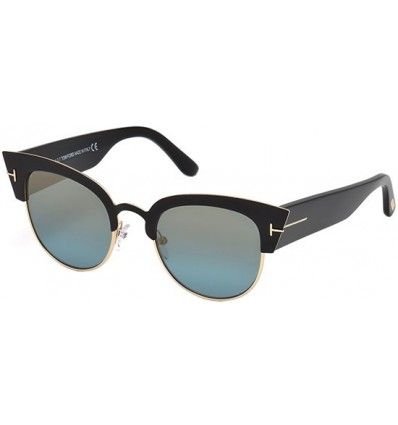 Gafas de Sol Tom Ford FT0607 ALEXANDRA Black - Blue (05X)