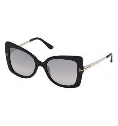 Gafas de Sol Tom Ford FT0609 GIANNA Shiny Black - Grey (01C C)
