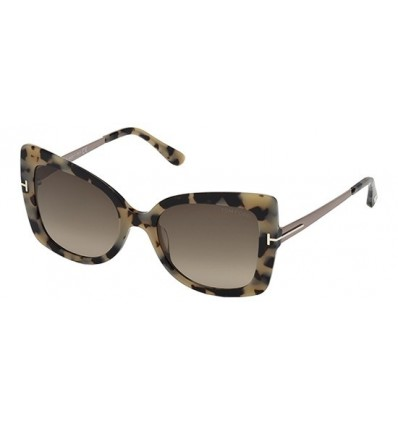 Gafas de Sol Tom Ford FT0609 GIANNA Beige Havana - Roviex Shaded (55K A)