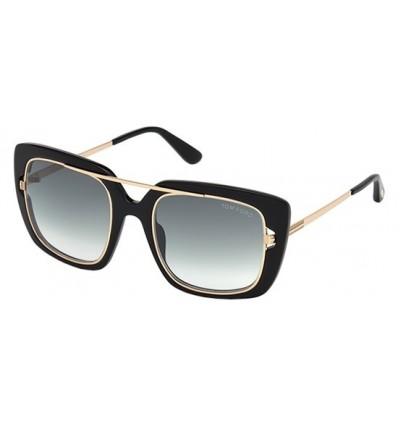 Gafas de Sol Tom Ford FT0619 MARISSA Black - Grey Green Shaded (01B)
