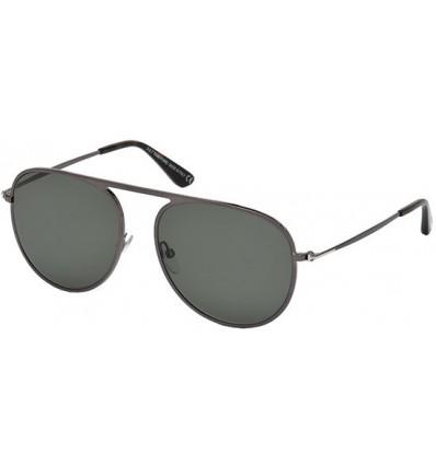 Gafas de Sol Tom Ford FT0621 JASON Ruthenium - Green (08R A)