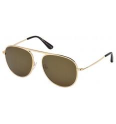 Gafas de Sol Tom Ford FT0621 JASON Gold - Brown (28L)