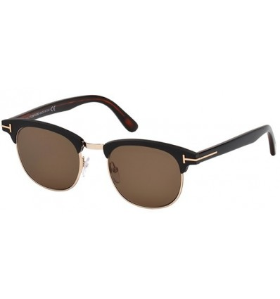 Gafas de Sol Tom Ford FT0623 LAURENT Matte Black - Roviex (02J A)