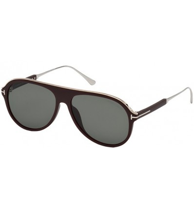Gafas de Sol Tom Ford FT0624 NICHOLAI Dark Brown - Smoke (49A)