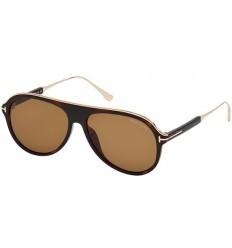 Gafas de Sol Tom Ford FT0624 NICHOLAI Dark Havana - Light Brown (52E)