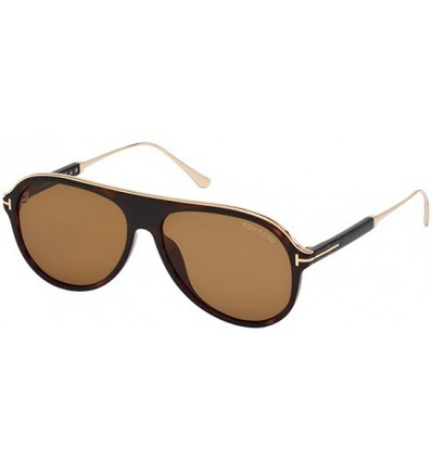 Gafas de Sol Tom Ford FT0624 NICHOLAI Dark Havana - Light Brown (52E)