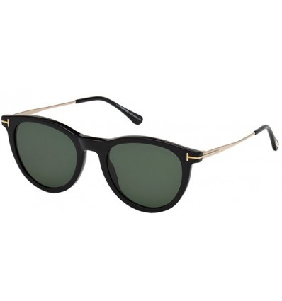 Gafas de Sol Tom Ford FT0626 KELLAN Black - Green (01N)