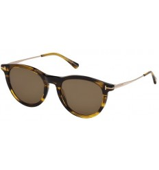 Gafas de Sol Tom Ford FT0626 KELLAN Striped Amber - Roviex (50J F)