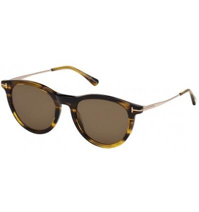 Gafas de Sol Tom Ford FT0626 KELLAN Striped Amber - Roviex (50J F)