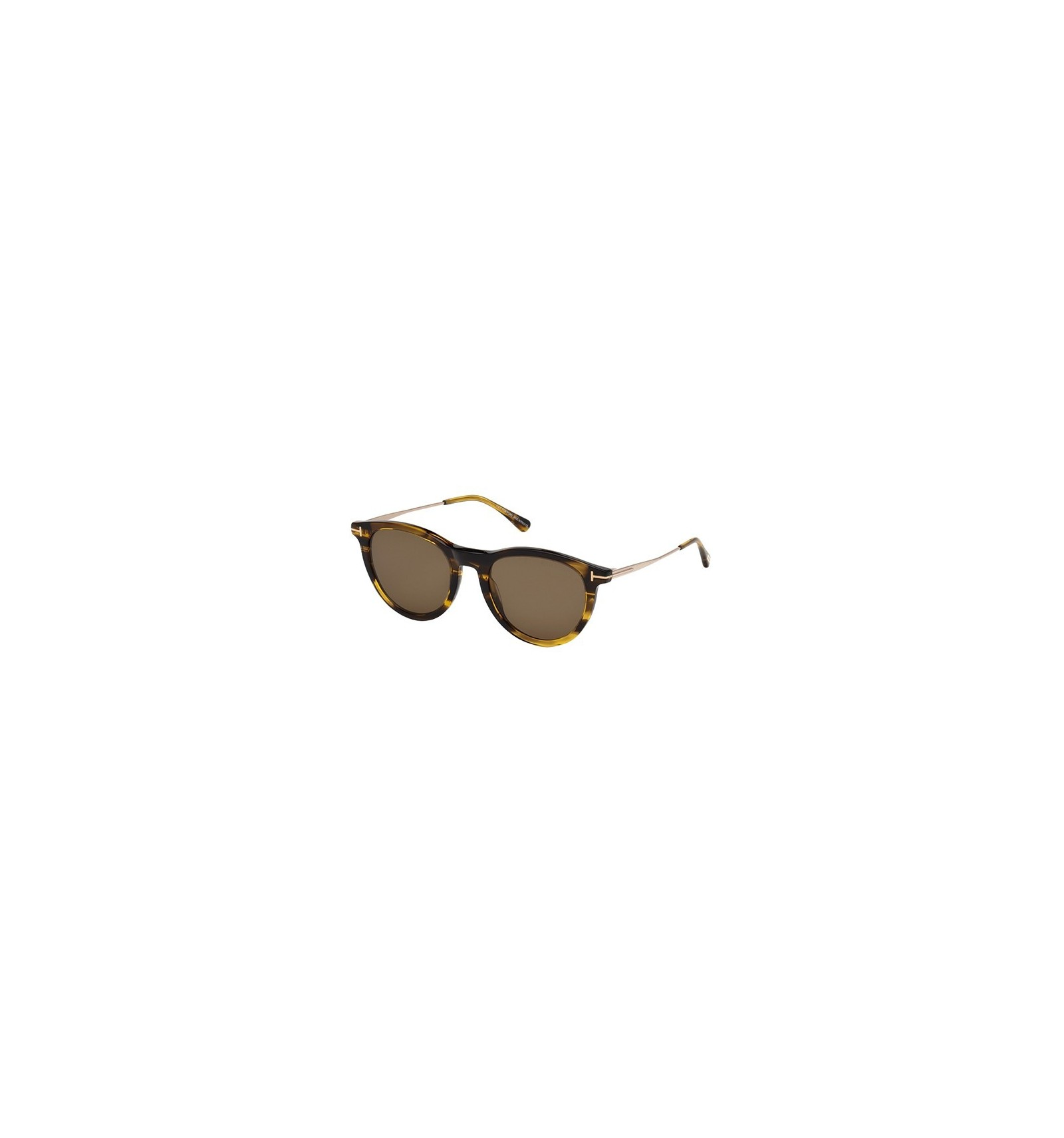 df447d2ef1 Gafas de Sol Tom Ford FT0626 KELLAN Striped Amber - Roviex. Compra ...
