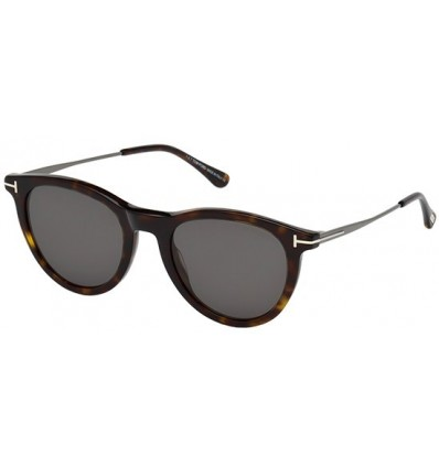 Gafas de Sol Tom Ford FT0626 KELLAN Dark Havana - Grey (52A C)