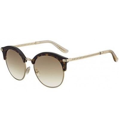 Gafas de sol JIMMY CHOO HALLY Dark Havana - Brown Shaded (086-HA)