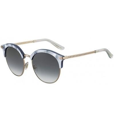 Gafas de sol JIMMY CHOO HALLY Azure Pearl - Dark Grey Shaded (MVU-9O)