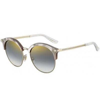 Gafas de sol JIMMY CHOO HALLY Beige Pearl - Grey Shaded (SCK-FQ)