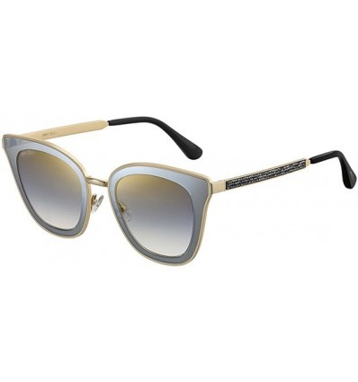 Gafas de sol JIMMY CHOO LORY Grey - Grey Gold Shaded (2M2-FQ)
