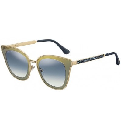 Gafas de sol JIMMY CHOO LORY Yellow Green - Blue Shaded (KY2-08)