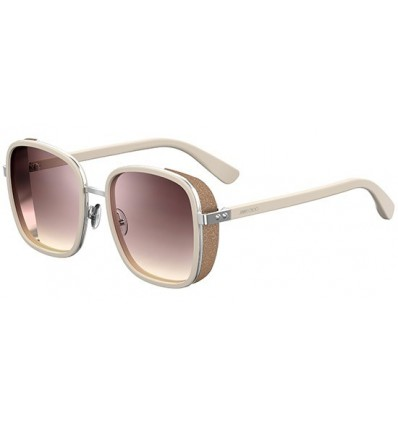 Gafas de sol JIMMY CHOO ELVA Ivory Gold - Grey Pink Shaded (8U0-NQ)