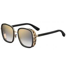 Gafas de sol JIMMY CHOO ELVA Black Animal Print - Gold Grey Shaded (FP3-FQ)