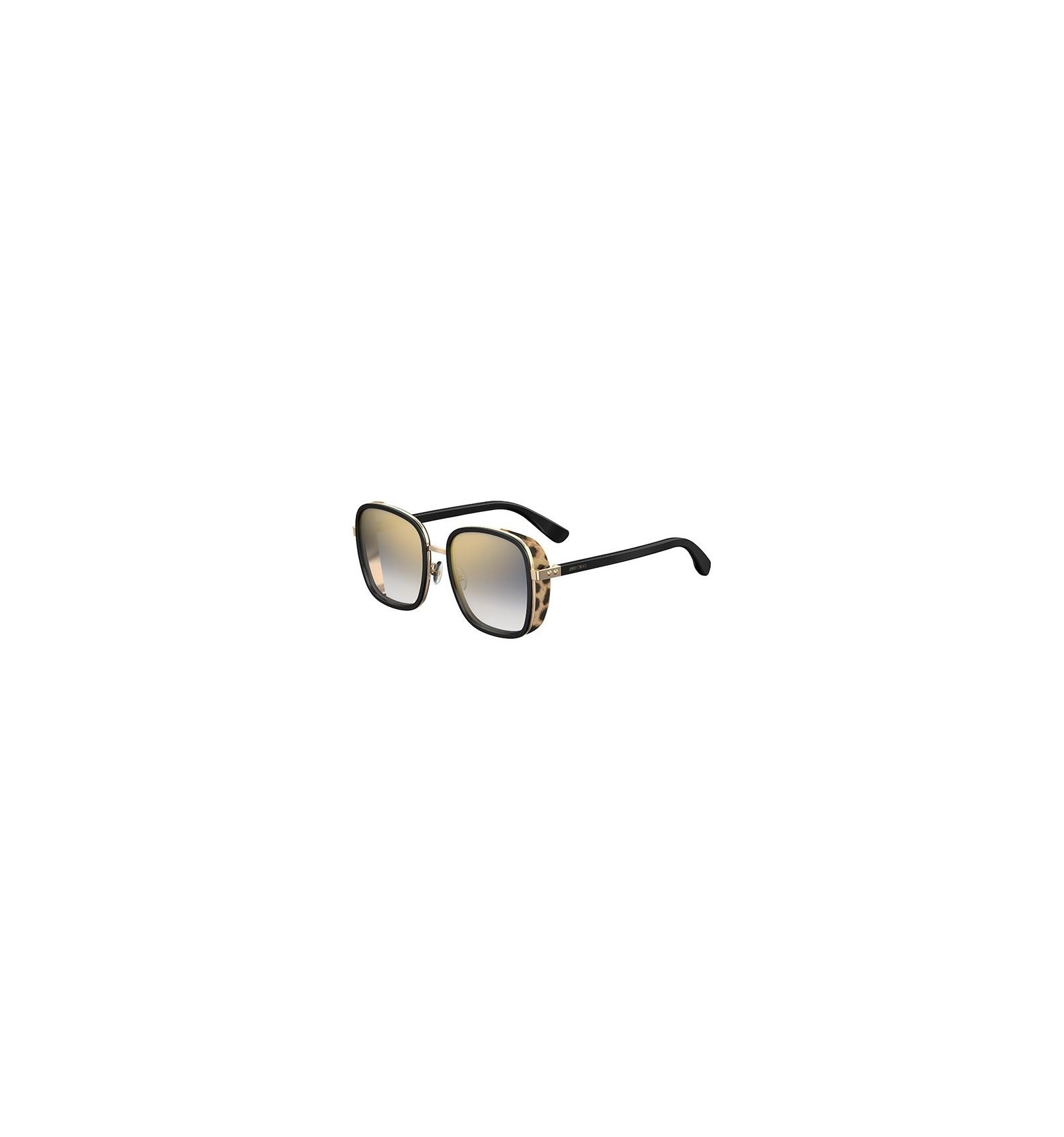 5b3fa5e6e5 Gafas de sol JIMMY CHOO ELVA Black Animal Print - Gold Grey Shaded (FP3-