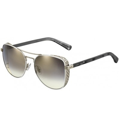 Gafas de sol JIMMY CHOO SHEENA Silver - Grey Shaded (B4E-FQ)