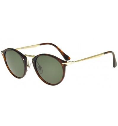 Gafas de sol PERSOL PO3166S Havana - Crystal Green (24-31)