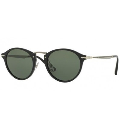 Gafas de sol PERSOL PO3166S Black - Crystal Grey Green (95-31)