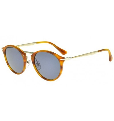 Gafas de sol PERSOL PO3166S Striped Brown - Crystal Grey Blue (960-56)