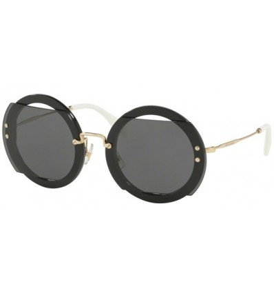 Gafas de sol MIU MIU SMU06S REVEAL EVOLUTION Black - Grey (1AB-1A1)