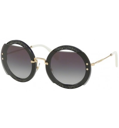 Gafas de sol MIU MIU SMU06S REVEAL EVOLUTION Dark Violet - Grey Shaded (VYU-5D1)