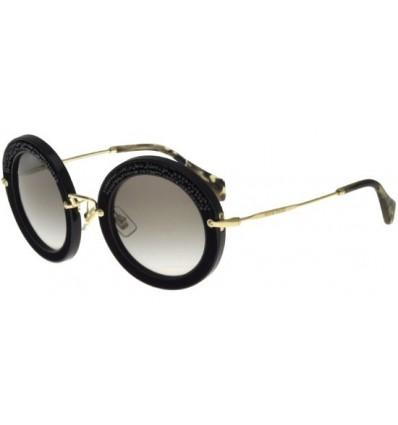 Gafas de sol MIU MIU SMU08R PAV STORY EVOLUTION Black - Grey shaded (1AB-0A7)