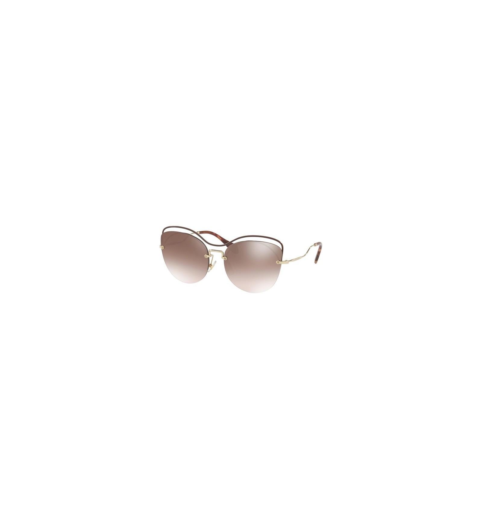 e693866e0b Gafas de sol MIU MIU SMU50TS SCENIQUE EVOLUTION Brown - Brown Silver  (R1J-QZ9