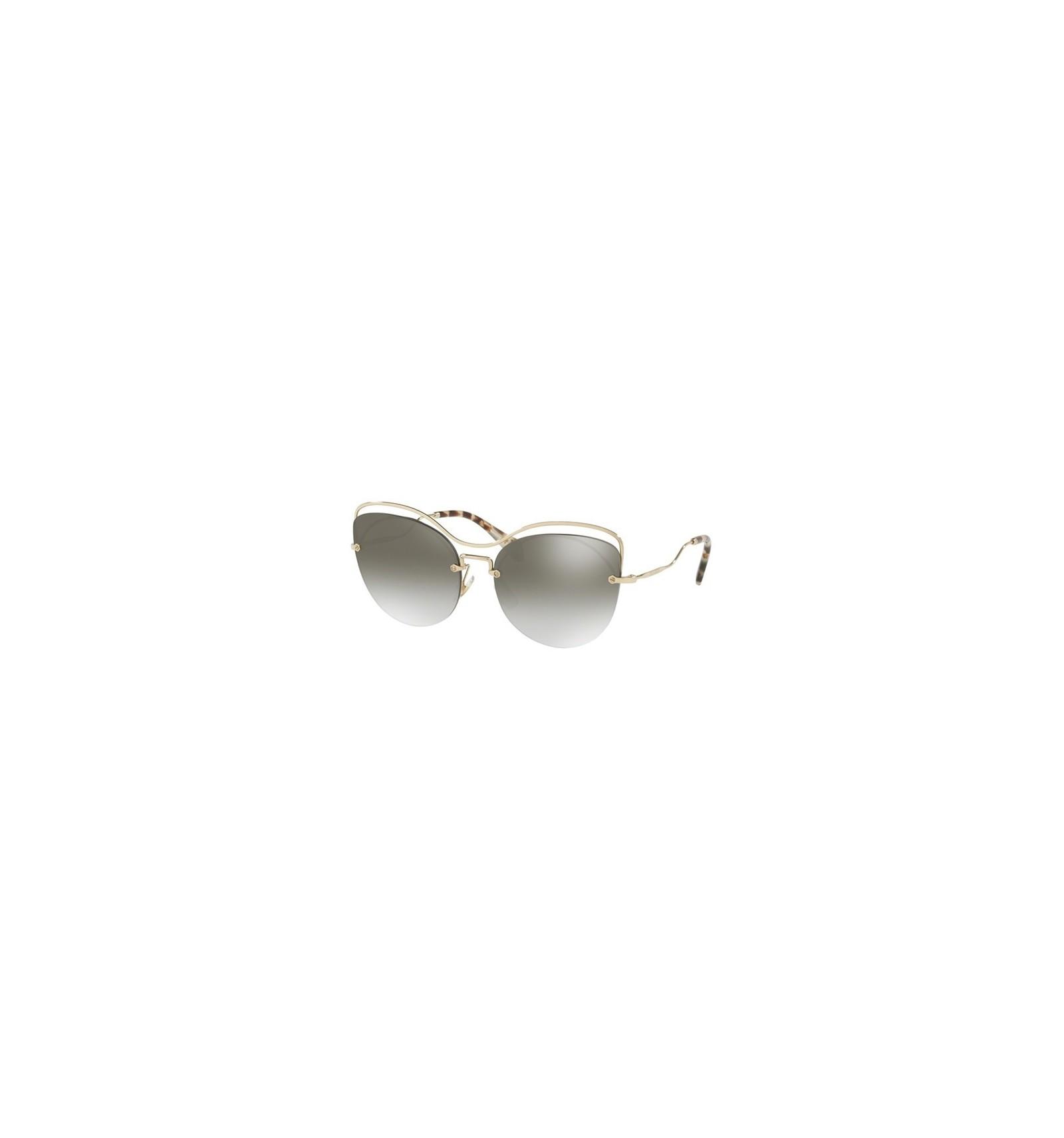c19d169459 Gafas de sol MIU MIU SMU50TS SCENIQUE EVOLUTION Pale Gold - Grey Shaded  (ZVN-