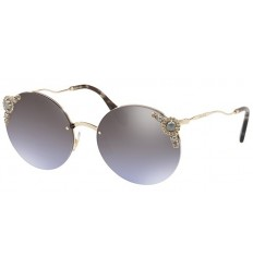 Gafas de sol MIU MIU SMU52TS PEARL COLLECTION Pale Gold - Violet Silver Shaded (WO4-2H2)