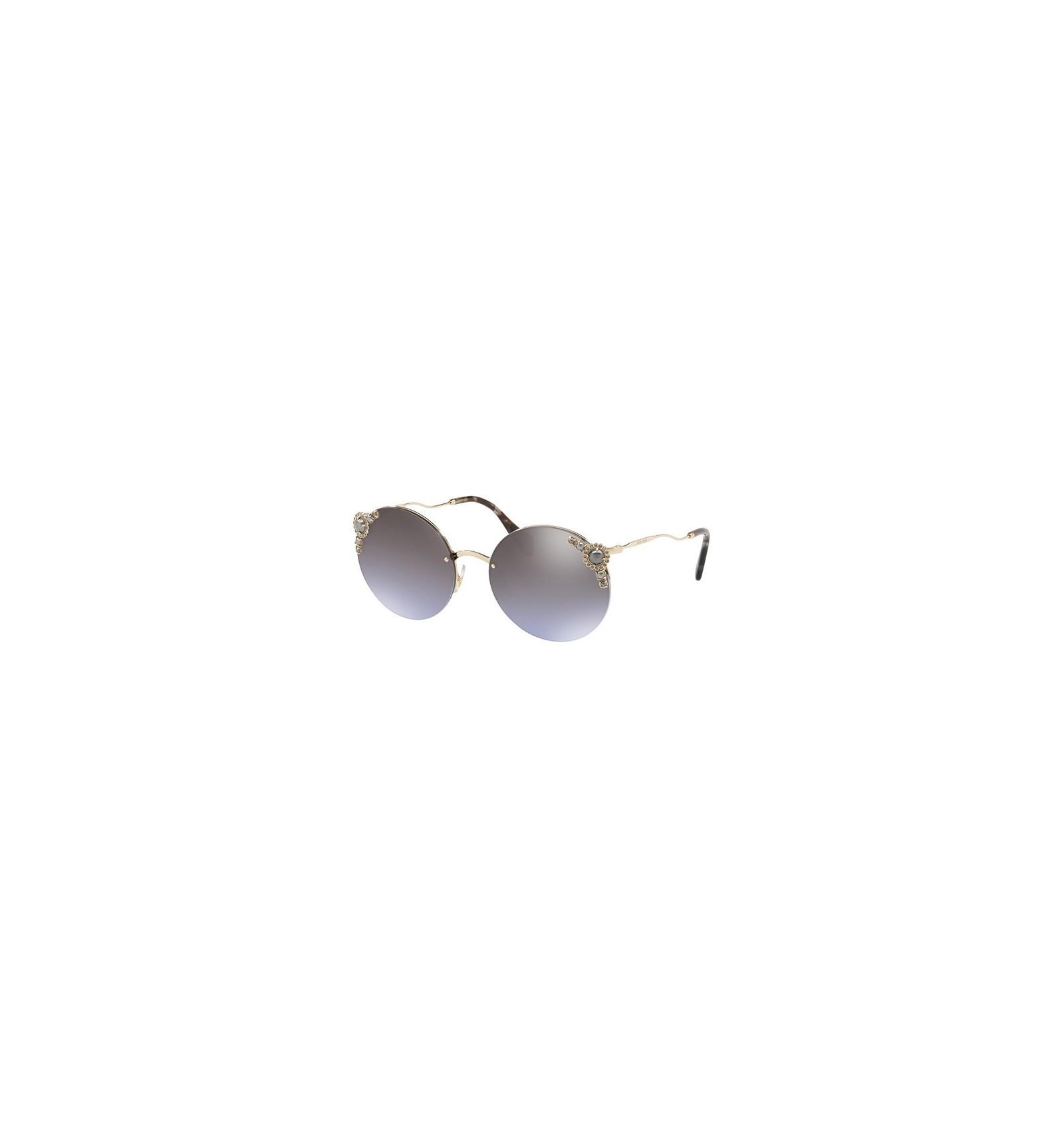 dd99a4e1105da Gafas de sol MIU MIU SMU52TS PEARL COLLECTION Pale Gold - Violet Silver  Shaded (WO4