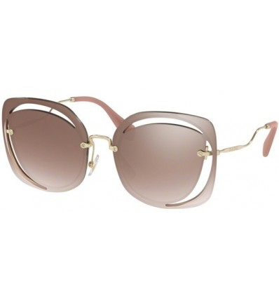 Gafas de sol MIU MIU SMU54TS SCENIQUE EVOLUTION Pale Gold - Brown Shaded Silver (DHO-AD5)