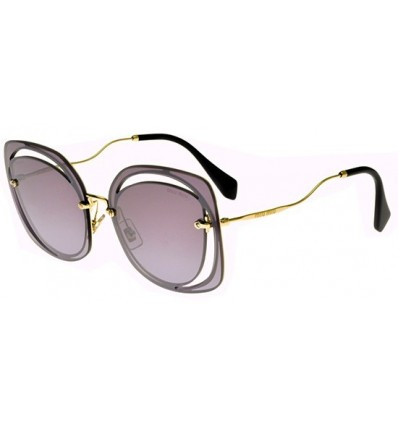 Gafas de sol MIU MIU SMU54TS SCENIQUE EVOLUTION Pale Gold - Grey Violet Shaded (ZVN-AD6)