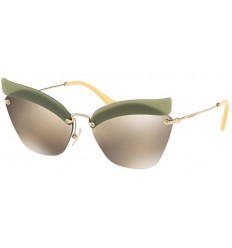 Gafas de sol MIU MIU SMU56TS CATWALK EVOLUTION Green - Brown Gold (BY6-1C0)