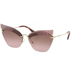 Gafas de sol MIU MIU SMU56TS CATWALK EVOLUTION Dark Pink - Violet Brown Shaded (KI4-5P1)