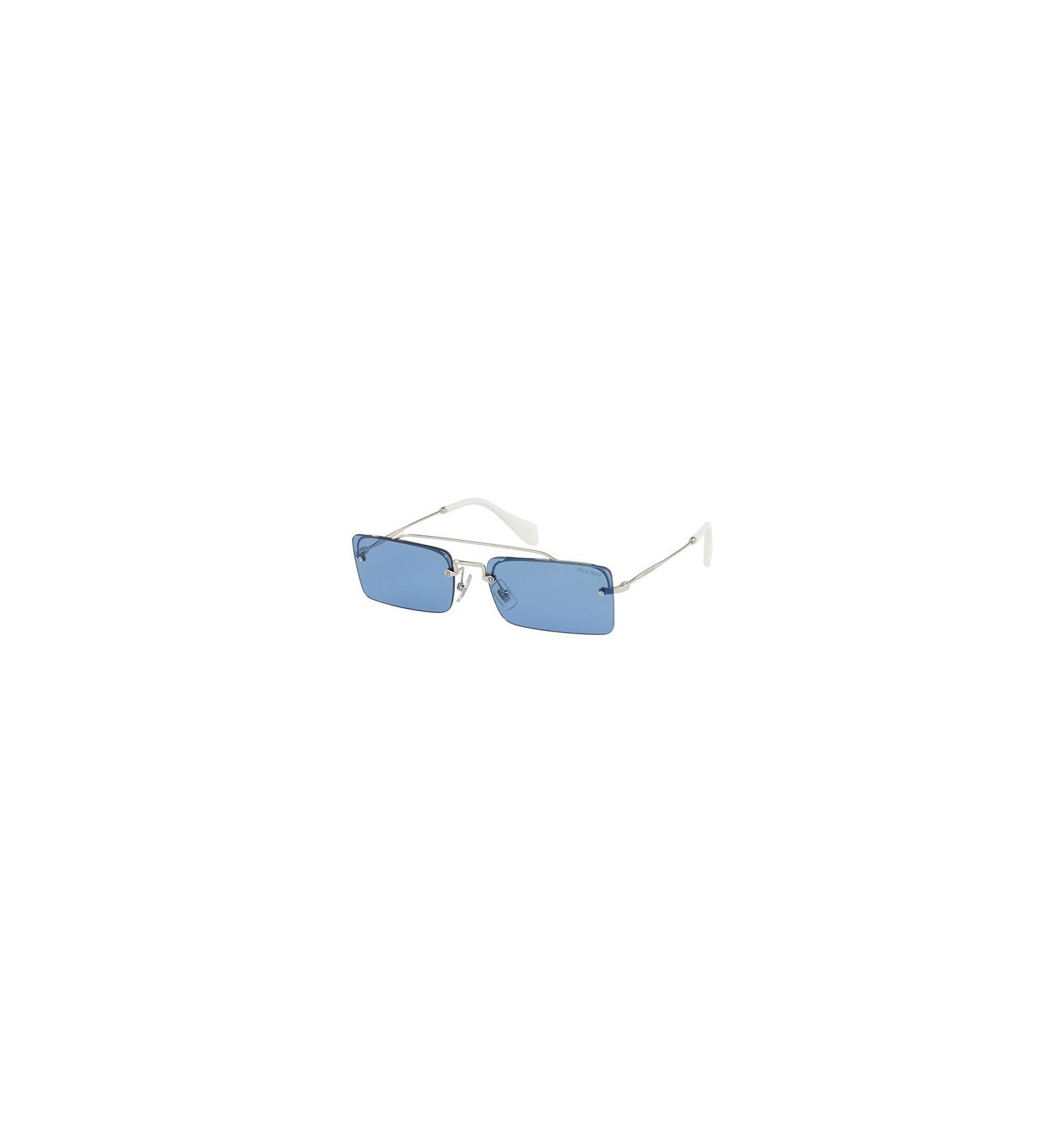 f344abce53 Gafas de sol MIU MIU SMU59T SOCIETE Silver - Light Blue. Compra Online