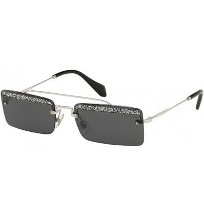 Gafas de sol MIU MIU SMU59T SOCIETE Silver - Grey Glitter (KJL-1A1)