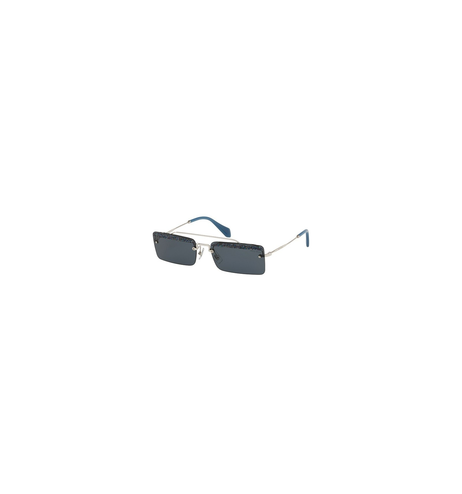 8c16298d56 Gafas de sol MIU MIU SMU59T SOCIETE Silver - Grey Blue Glitter (KJT-2K1