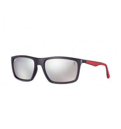 Gafas de sol RAY BAN Ferrari 4195M Negro - Plata Mirror Chromance (F602H21)