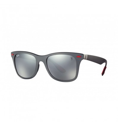 Gafas de sol RAY BAN Ferrari 4195M Gris Negro - Gris Espejada (F6056G)