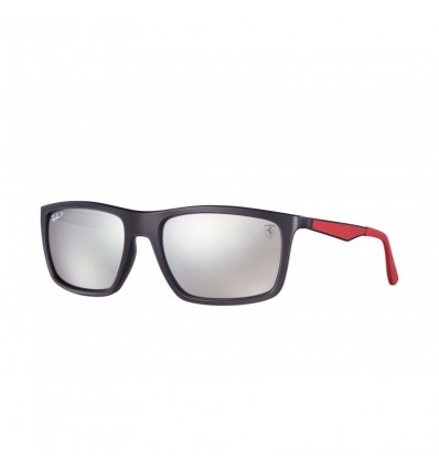 Gafas de sol RAY BAN Ferrari 4228M Negro - Plata Mirror Chromance (F602H2)