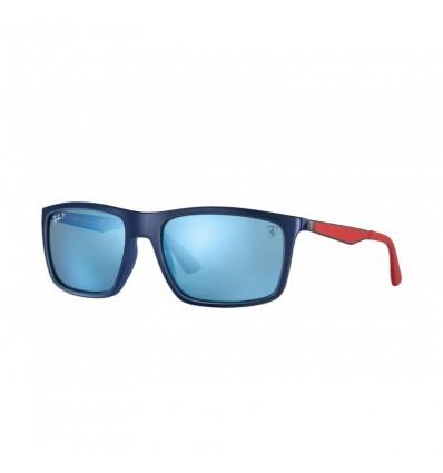 Gafas de sol RAY BAN Ferrari 4228M Azul Gunmetal - Azul Mirror Chromance (F606H0)