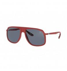 Gafas de sol RAY BAN Ferrari 4308M Rojo - Gris Clásico (F62887)