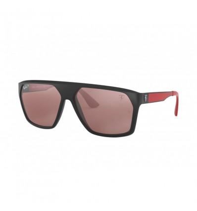 Gafas de sol RAY BAN Ferrari 4309M Negro - Plata Mirror Chromance (F602H2)